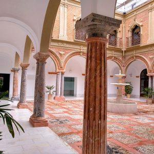 Patio Palacio Condes de Santa Ana, Lucena