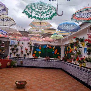 Patio de la Casa de la Juventud, Benamejí