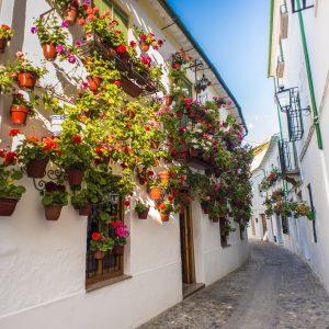 Balcón Calle Real Priego de Córdoba