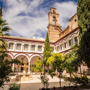 Patio Hospedería Priego de Córdoba