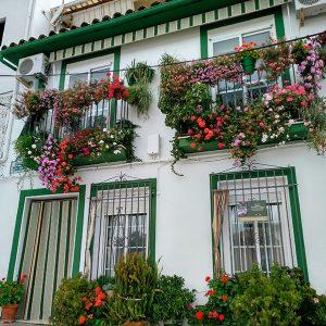 Balcón Tercia, calle Tercia 19, Carcabuey